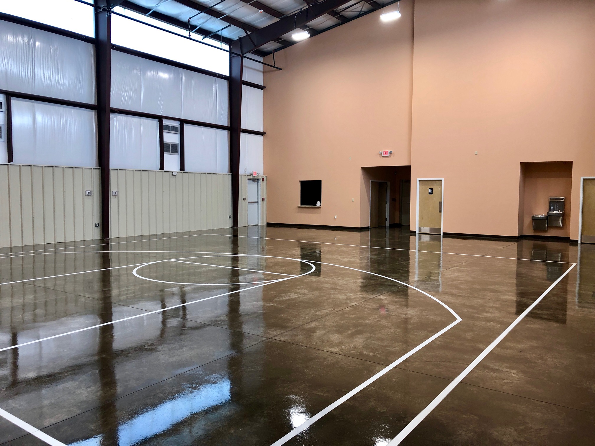 gymnasium build south carolina